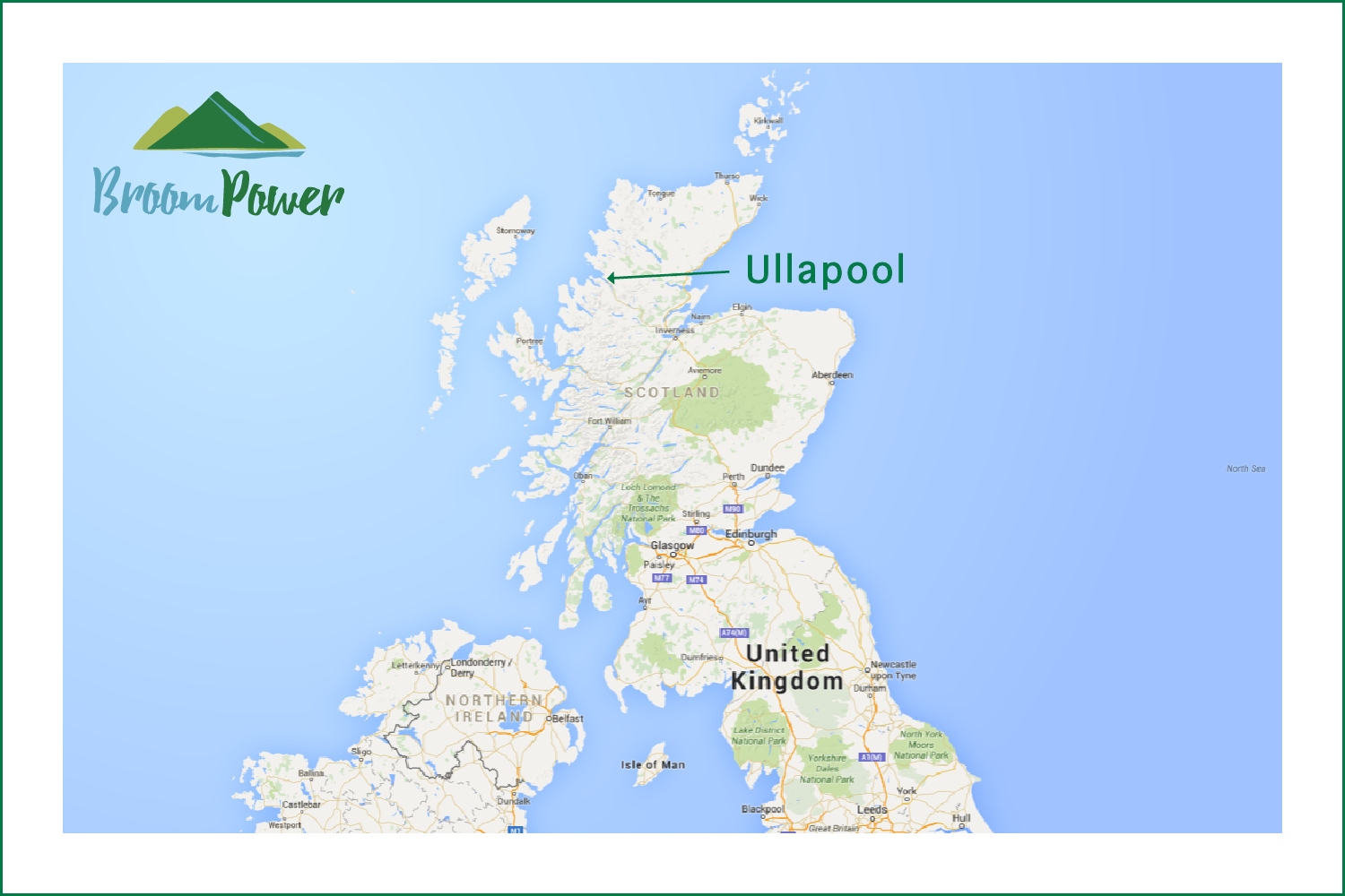 BroomPower map hydro Scotland